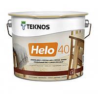 Полуглянцевый специальный лак Teknos Helo 40 9 л
