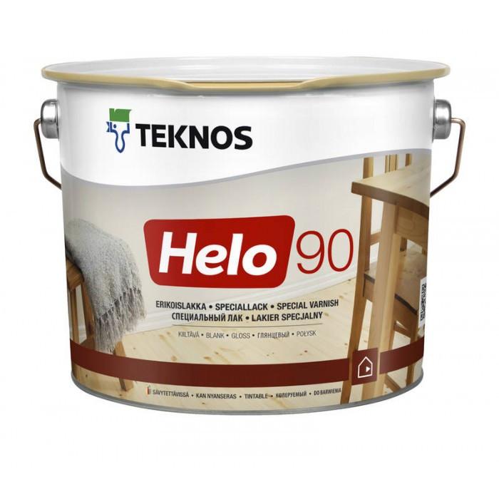 Глянцевый специальный лак Teknos Helo 90 9 л