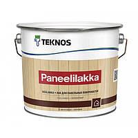 Полуматовый лак для ДСП и ОСП Teknos Paneelilakka 9 л