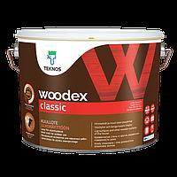 Лессирующий антисептик для наружных работ Teknos Woodex Classic 9 л