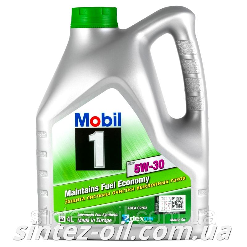 Моторное масло Mobil 1 ESP 5W-30 (4л)