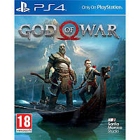 Игра God of War (2018) для Sony PS 4 (русская версия)