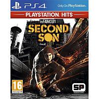 Игра Infamous: Второй сын для Sony PS 4 (русская версия)