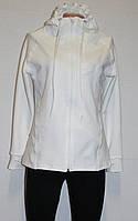 Спортивная кофта женская ,из 2хнитки,белая.