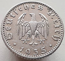 Германия 50 рейхспфеннигов 1935 А