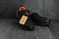 Кроссовки мужские Merrell Continivum (реплика), черные с оранжевым