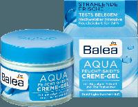 Крем для лица Balea Tagespflege Aqua Feuchtigkeits-Creme-Gel (увлажнение) 50 мл