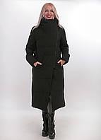 Пальто зимнее Ana Vista черного цвета, арт. 9833