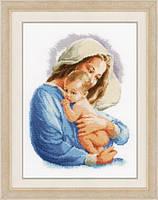 """Набір для вишивання хрестом """"Свята Марія"""" Vervaco Holy Mary"""