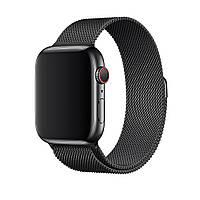 Ремешок Neo для Apple Watch Series 4 Milanese Loop 42 mm Space Black (70161)