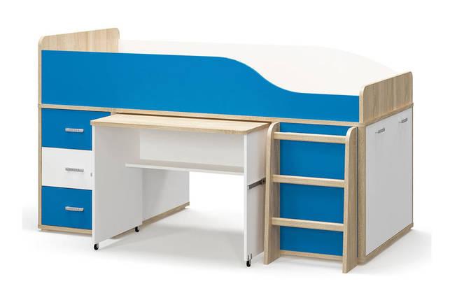 Кровать-горка  Лео, детская модульная система, фото 2