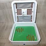 Инкубатор Рябушка на 70 яиц Smart plus с ручным переворотом и аналоговым терморегулятором, фото 7