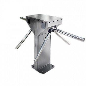 Турникет-трипод CENTURION TWIN, шлифованная нержавеющая сталь