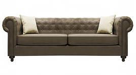 Двухместный Честер Йорк, не раскладной диван, мягкий диван, мебель в ткани
