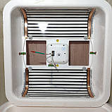 Инкубатор Рябушка на 70 яиц Smart plus с ручным переворотом и аналоговым терморегулятором, фото 8