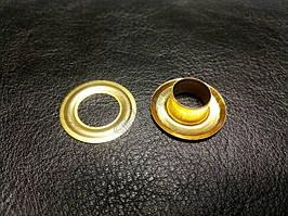 Блочка (Люверс) №24 с шайбой, золото