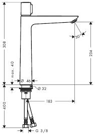 Смеситель для умывальника Hansgrohe Talis Select E 240 со сливным гарнитуром  71752000, фото 2