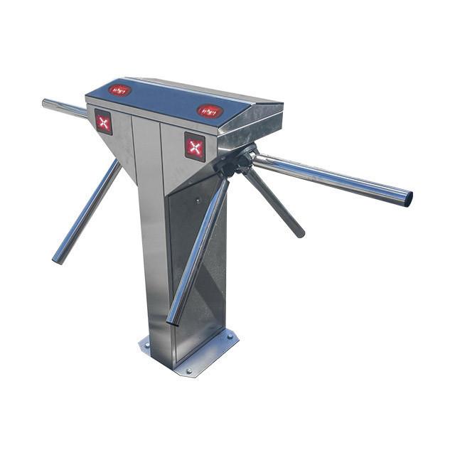 Турникет-трипод BASTION TWIN, полированная нержавеющая сталь