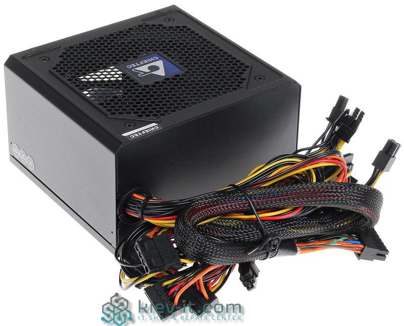 "Блок питания Chieftec CPS-650S 650-W Bronze ""Over-Stock"" Б/У"