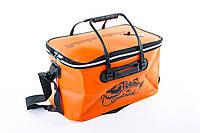 Сумка рыболовная Tramp Fishing bag EVA Orange - M