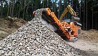Дробление бетона - щековая дробилка ROCKSTER