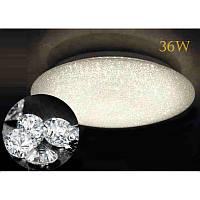 Накладной светодиодный светильник LED Feron AL5400 AZUR 36W 3000K-6500K с ПДУ