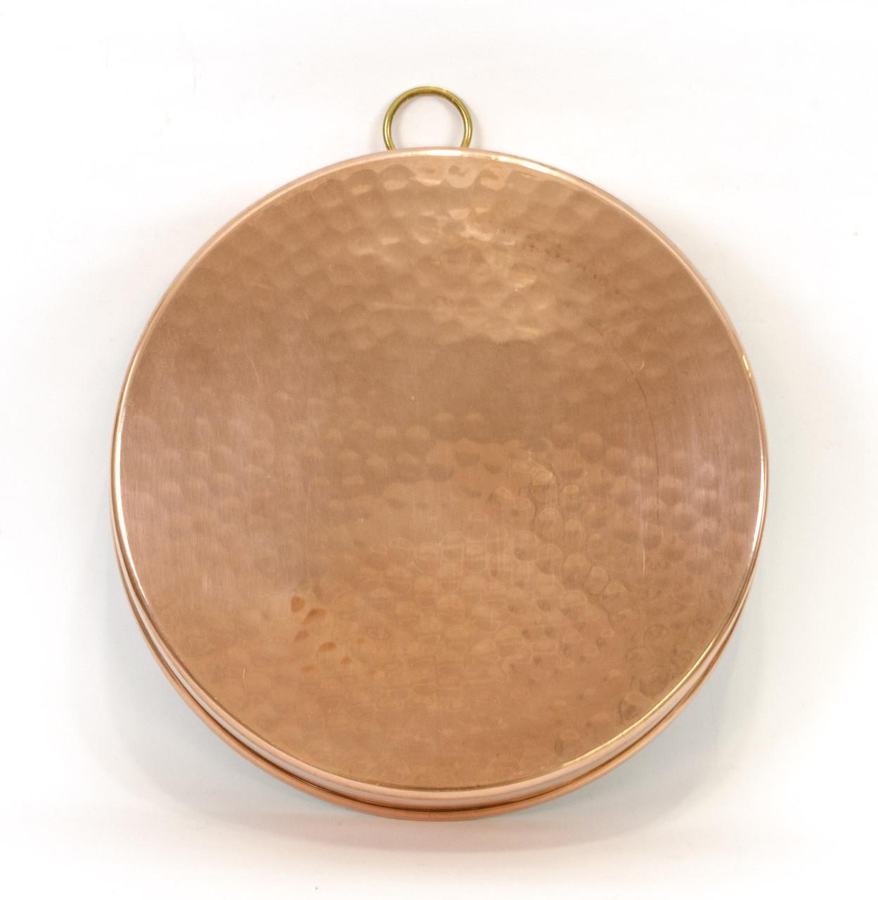 Медная форма для выпечки, медь, Швеция, винтажная, 22,5 см