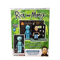 Конструктор McFarlane Rick and Morty  Рик и Морти 108 pcs BLRM constructor