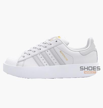 755d8057 Женские кроссовки Adidas Superstar Bold W White CQ2824, оригинал, фото 2