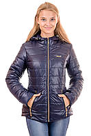 Женская демисезонная куртка IRVIC 48 Темно-синий IrC-2016С-48, КОД: 259092