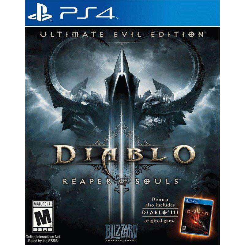 Игра Diablo III: Reaper of Souls. Ultimate Evil Edition для Sony PS 4 (русская версия)