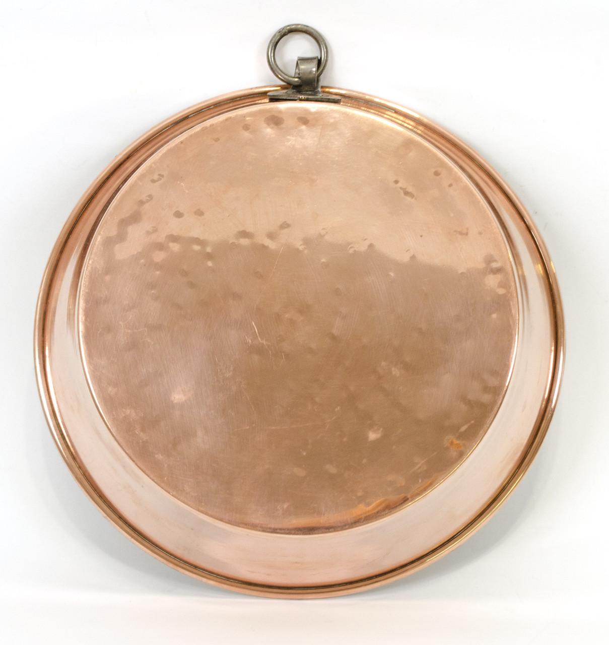 Медная форма для выпечки, медь, Швеция, винтажная, 25 см