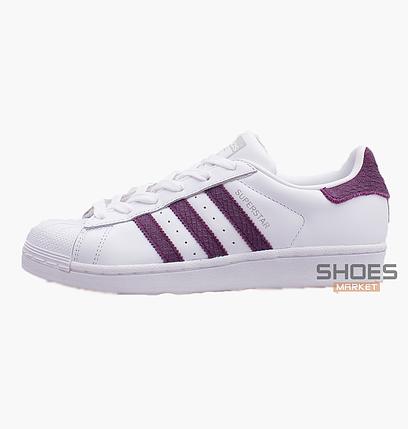 Женские кроссовки Adidas Superstar White D96799 8cbfef835c180