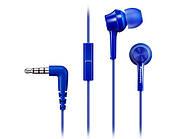 Наушники с микрофоном Panasonic RP-TCM115GC-A Blue