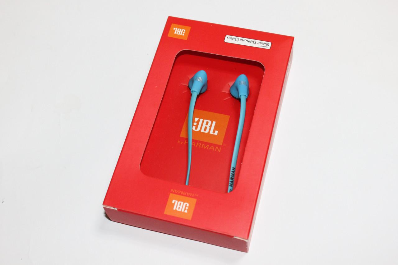 Наушники JBL (коробка) Blue