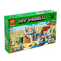 """Конструктор """"Minecraft"""" Bela 10392 """"Пустынная станция"""""""