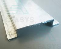 Омега-образный оцинкованный профиль (омега) 20х20х80х20х20х1мм
