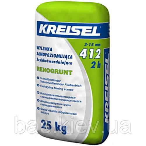 Kreisel 412 Смесь для пола самовыравнивающая ,слой 3-15 мм 25кг