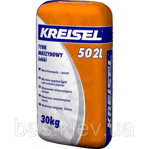 Kreisel 502L Штукатурка цементно известковая, машинная, легкая 30кг