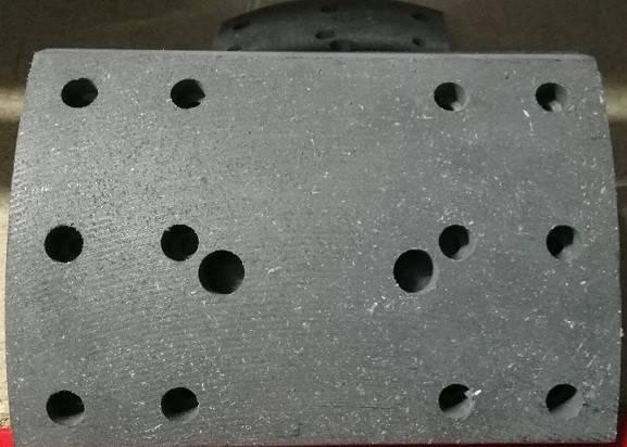 Накладка гальмівна FAW 3252 (ФАВ 3252), фото 2