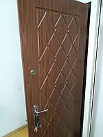 Двери входные 2000*820 с мдф карточками, фото 1