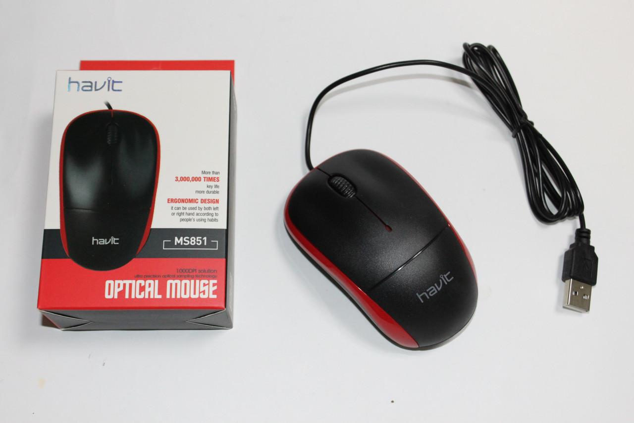 Мышка Havit HV-MS851 Red