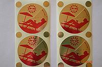 Стикини для солярия (накладки на грудь+родинки) 2 шт (ПОДАРОК)