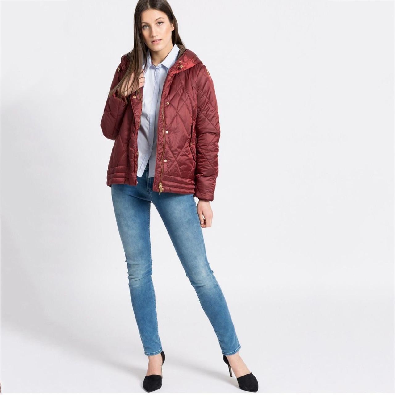 fc87e991f42 Куртка женская Geox W5420B 44 Красный W5420BBRD