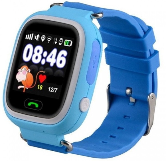 Часы Smart Baby Watch Q90 Kids Blue Гарантия 1 месяц