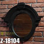 Зеркало настенное из дерева  в лоф стиле Z-06, фото 4