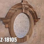 Зеркало настенное из дерева  в лоф стиле Z-06, фото 6