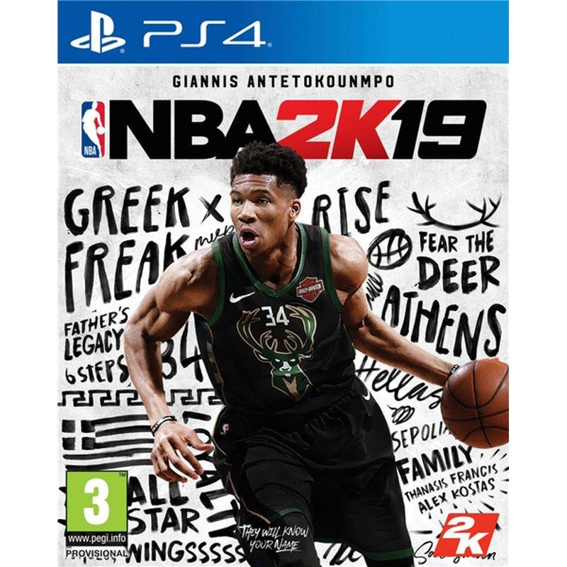 Игра NBA 2K19 для Sony PS 4 (английская версия)