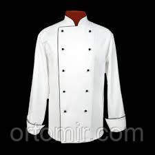 Кітель кухарський білий