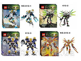 Конструктор KZC Bionicle 612-1/4 (LEGO Bionicle) 4 вида